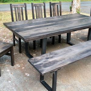 ambrosiamaple-slatestain-benchchairs-industrialtable