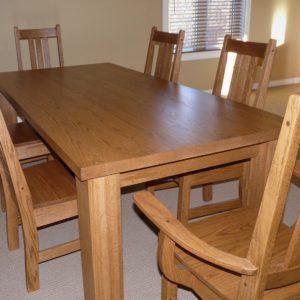 oak-mission-dining-set